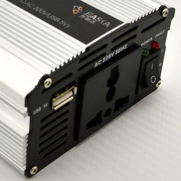 Инвертор-преобразователь 12/220V, фото 3