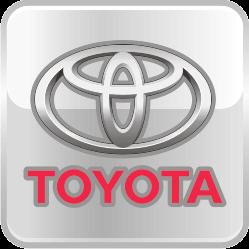 Тюнингованные решетки радиатора Toyota