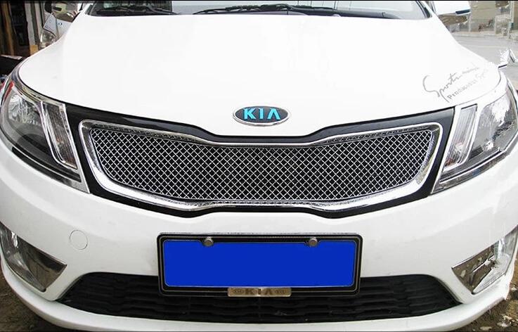 Хромированная решетка радиатора Kia Optima (верхний) (2010-2013)