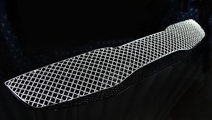 Хромированная решетка радиатора Kia Optima (верхний) (2010-2013), фото 4