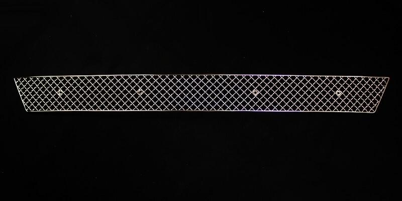 Хромированная решетка радиатора Kia Optima (нижний) (2010-2013), фото 4