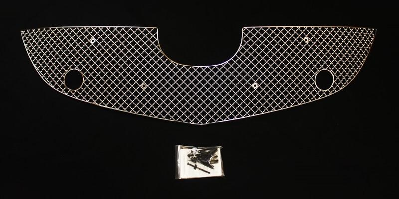 Хромированная решетка радиатора Mazda CX-5 (1 вариант) (2011-2015), фото 3