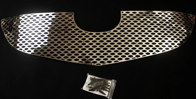 Хромированная решетка радиатора Mazda CX-5 (2 вариант) (2011-2015)