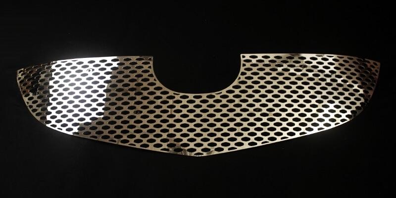 Хромированная решетка радиатора Mazda CX-5 (2 вариант) (2011-2015), фото 2