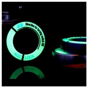 Светящаяся накладка на замок зажигания для Volkswagen