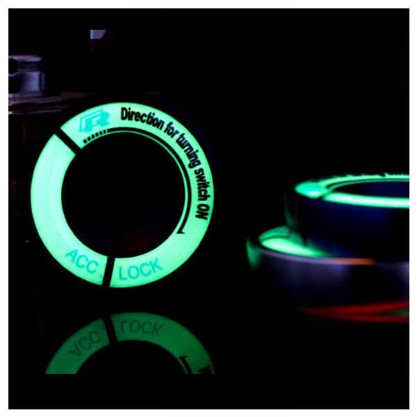 Светящаяся накладка на замок зажигания для Audi