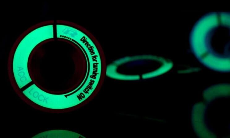 Светящаяся накладка на замок зажигания для Audi, фото 3