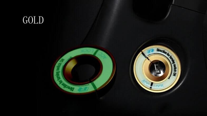 Светящаяся накладка на замок зажигания для Audi, фото 8