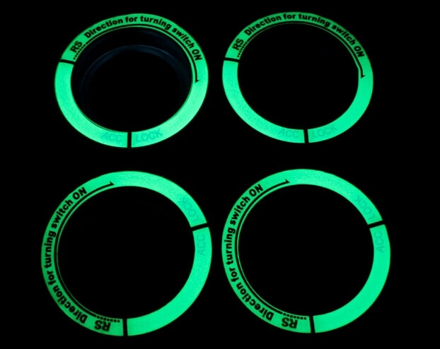 Светящаяся накладка на замок зажигания для Ford Kuga, фото 4