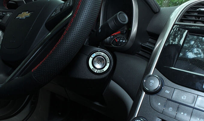 Светящаяся накладка на замок зажигания для Chevrolet Cruze, фото 9
