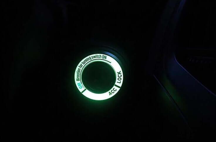 Светящаяся накладка на замок зажигания для Mazda, фото 8