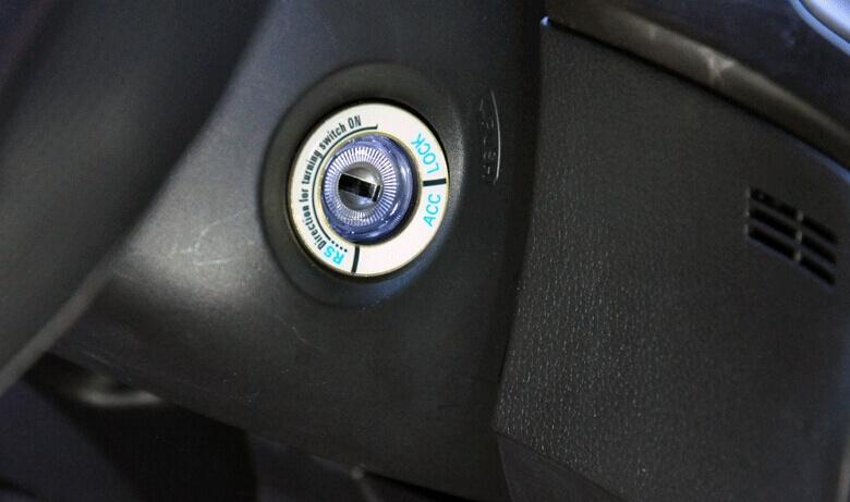 Светящаяся накладка на замок зажигания для Honda