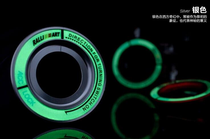 Светящаяся накладка на замок зажигания для  Mitsubishi, фото 9