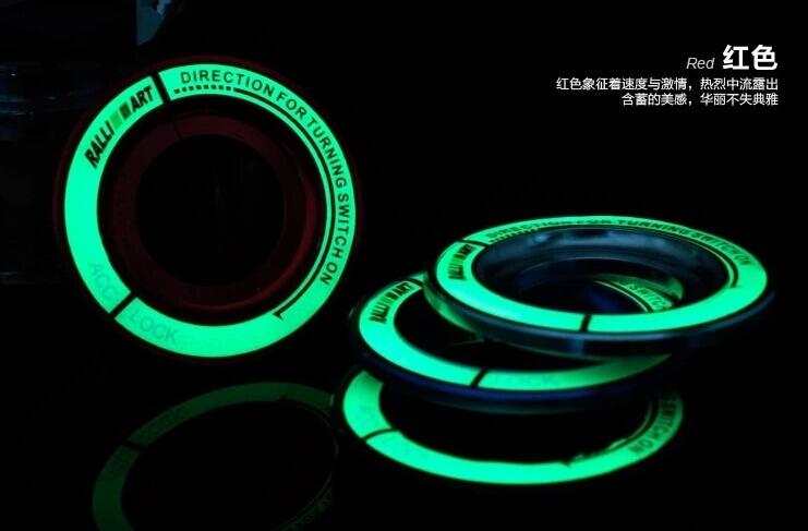 Светящаяся накладка на замок зажигания для  Mitsubishi, фото 10