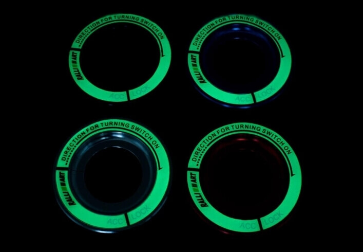 Светящаяся накладка на замок зажигания для  Mitsubishi, фото 11