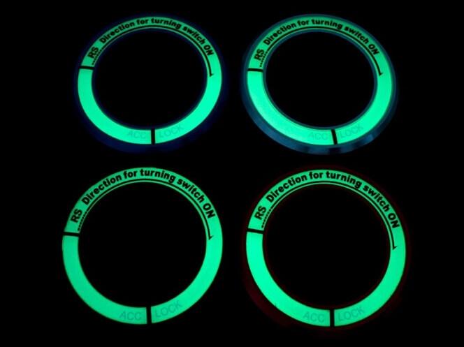 Светящаяся накладка на замок зажигания для Hyundai, фото 4
