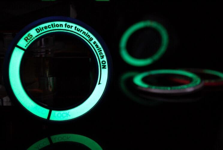 Светящаяся накладка на замок зажигания для Nissan, фото 6