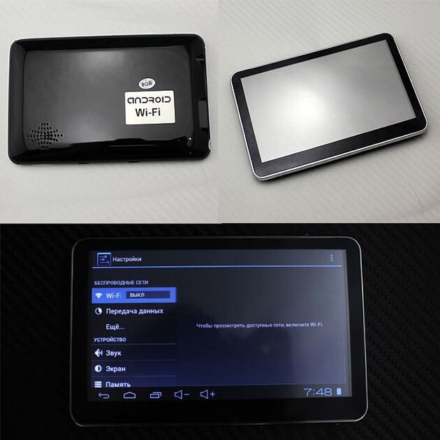GPS-навигатор со встроенным WiFi, фото 10