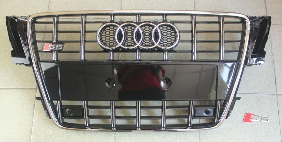 Высокопрочная тюнингованная решетка радиатора Audi A5 в стиле S5 (пред.), фото 2