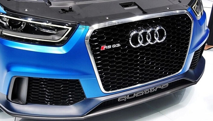 Высокопрочная тюнингованная решетка радиатора Audi RSQ3, фото 3