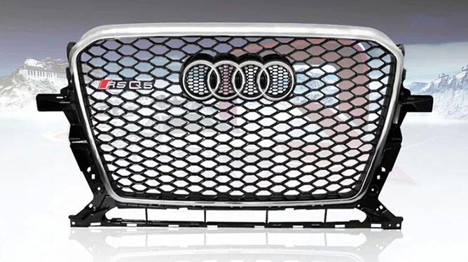 Высокопрочная тюнингованная решетка радиатора Audi RSQ5, фото 3