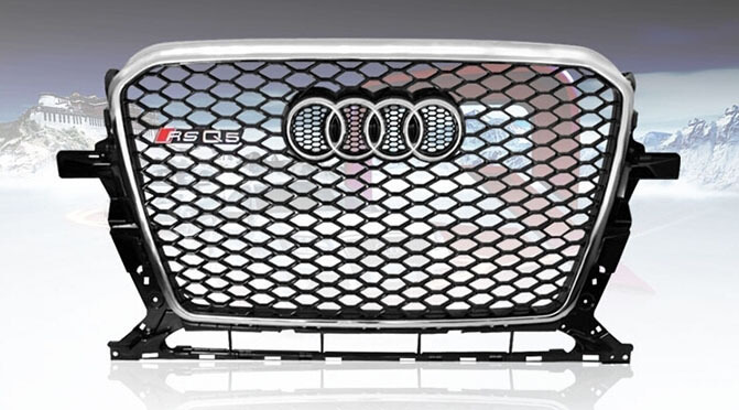 Высокопрочная тюнингованная решетка радиатора Audi RSQ5, фото 4