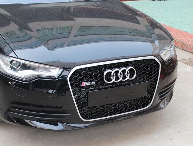 Высокопрочная тюнингованная решетка радиатора Audi RS6