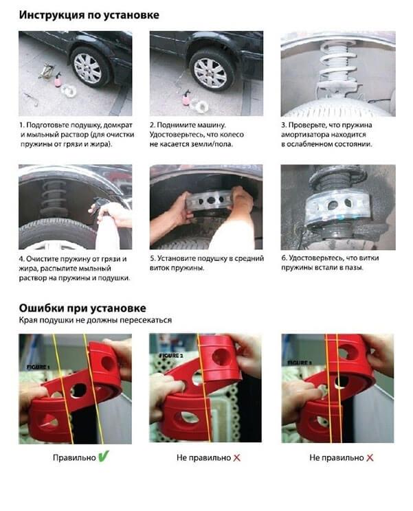 Автобаферы Киа Серато 1- Kia Cerato 1 (2004-2009) А,В, фото 3