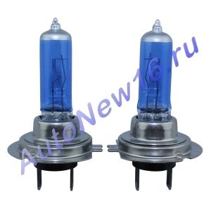 Лампы Фольксваген Гольф 4 c галогеном - Дальние фары (Галогеновая лампа белого свечения)