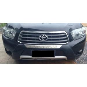 Защитная накладка бампера Toyota Highlander (2007-2010)