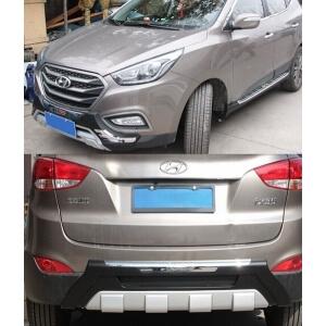 Защитная накладка бампера Hyundai IX35 (2013-2015)