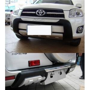 Защитная накладка бампера Toyota Rav4 Американка (2009)