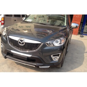 Защитная накладка бампера Mazda CX-5 (2011-2017)
