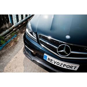 Хромированная решетка радиатора Mercedes-Benz C-Class (W204)