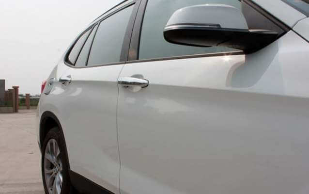 Хромированные накладки на ручки BMW X1