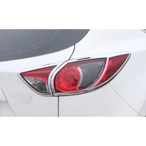 Хромированные накладки на задние фары Mazda CX-5