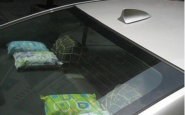 Плавник на крышу автомобиля Красный, фото 4