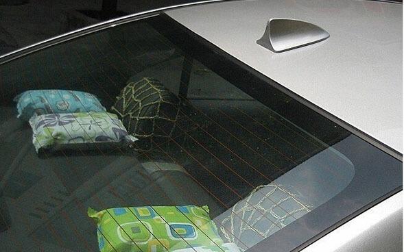 Плавник на крышу автомобиля Серебряный, фото 4
