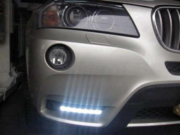 Дневные ходовые огни BMW X3 F25 (2010-2013)