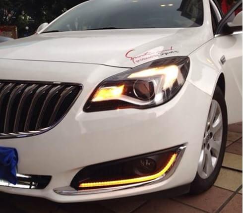 Дневные ходовые огни Opel Insignia (2013-2017) (1 вариант)