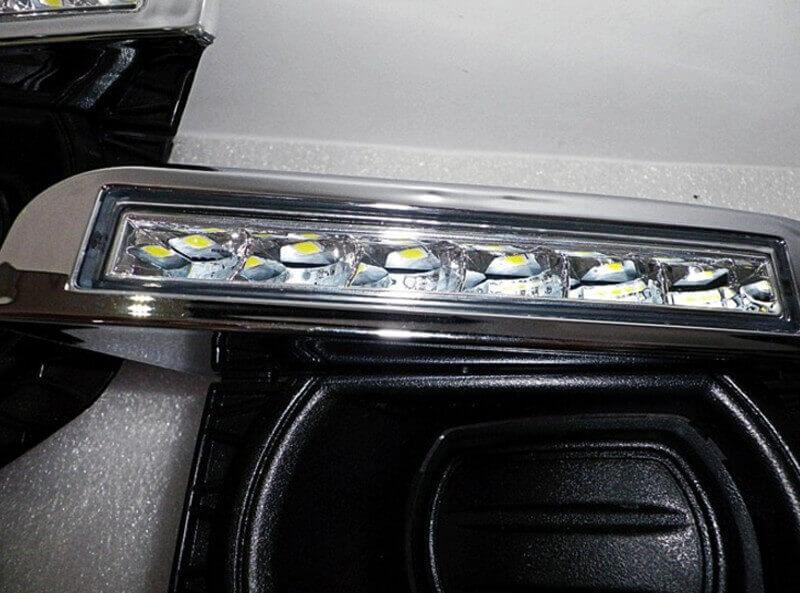 Дневные ходовые огни Land Rover Freelander, фото 3