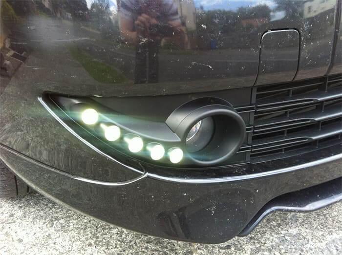 Дневные ходовые огни Renault Fluence (2010-2012)