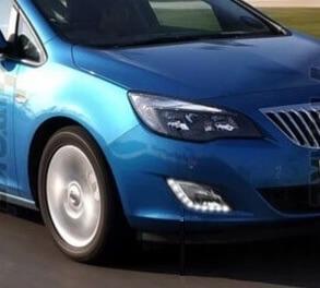 Дневные ходовые огни Opel Astra J