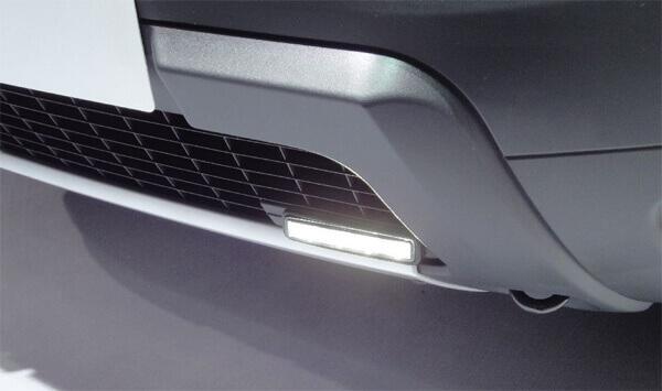 Дневные ходовые огни Renault Duster
