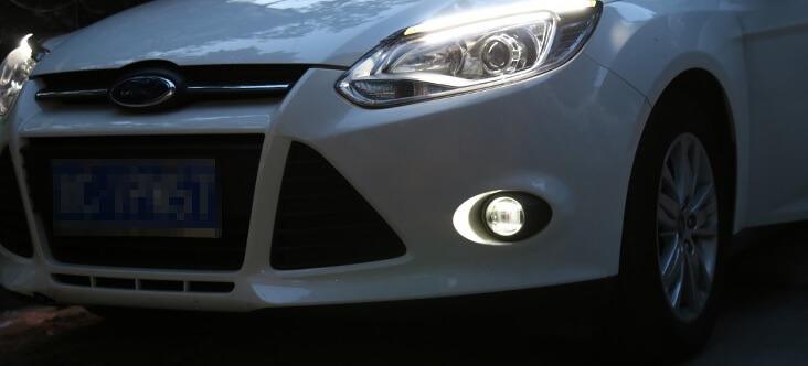 Противотуманные фары Ford Focus 3 (1.6)