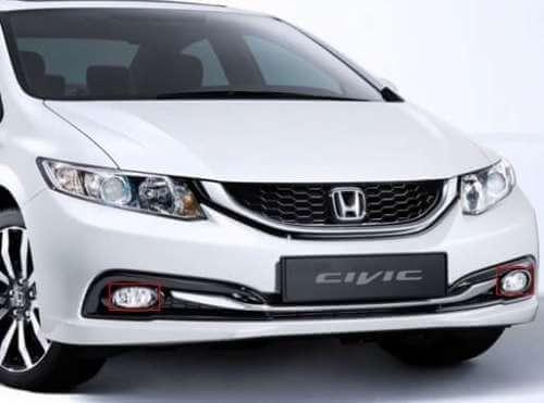 Противотуманные фары Honda Civic (2008-2012)