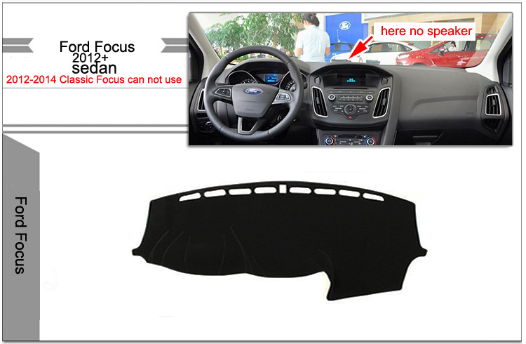 Защитное покрытие панели для Ford Focus 3 (без колонки)