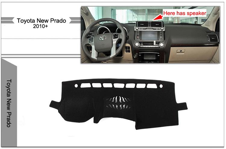 Защитное покрытие панели для Toyota Land Cruiser Prado 150 (2010-2017)