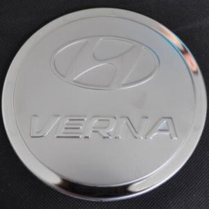 Накладка на крышку бензобака Hyundai Solaris/Verna