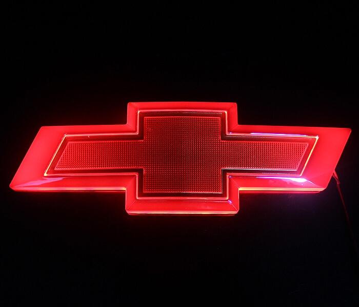 4D светящийся шильдик Chevrolet Cruze, фото 2